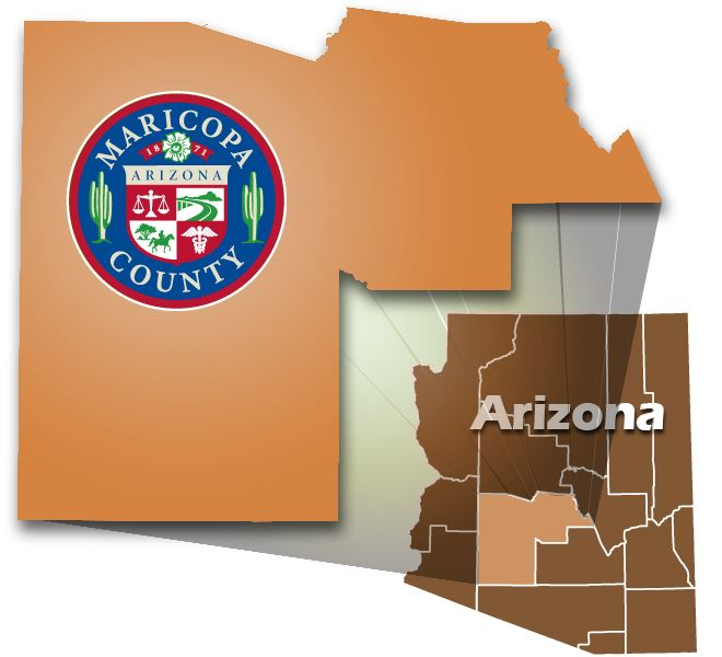 County location in the State of Arizona