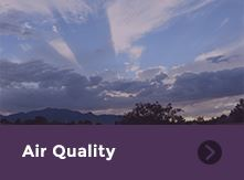 Air Quality Square Graphic Icon